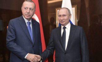 Μένος με τον Χαφτάρ έχει ο Ερντογάν – Τι δήλωσε πριν συναντηθεί με τον Πούτιν