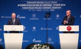 Ερντογάν και Πούτιν παριστάνουν τα περιστέρια της ειρήνης ενώ σχεδιάζουν να κατακτήσουν την περιοχή μας