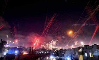 Ένας νεκρός και πολλοί τραυματίες στη Συρία από πρωτοχρονιάτικες μπαλωθιές
