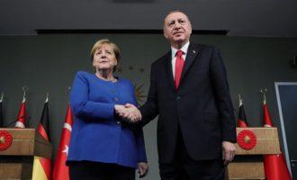 Η Μέρκελ είπε στους Τούρκους: Η Γερμανία θέλει να ρίξει λεφτά στην Τουρκία αλλά… Ελλάδα και Κύπρος