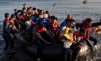 Παγχιακή Επιτροπή ΑΓΩΝΑ: Οι Τούρκοι ισχυρίζονται ότι σταμάτησαν 168.510 μετανάστες στη θάλασσα