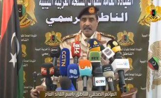 Λιβύη: «Αναμένουμε τουρκική επίθεση ανά πάσα στιγμή» δηλώνει ο εκπρόσωπος του LNA