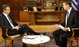 Μητσοτάκης: Βέτο για τη Λιβύη εάν δεν καταργηθούν οι συμφωνίες με Τουρκία