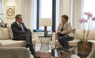 Ο Μητσοτάκης ανακοίνωσε το κλείσιμο του γραφείου του ΔΝΤ στην Αθήνα