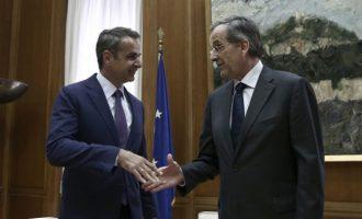 ΣΥΡΙΖΑ: Ο μόνος που δίνει εξηγήσεις είναι ο Μητσοτάκης ως όμηρος του Σαμαρά