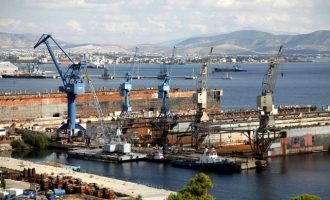 Γεωργιάδης: Τα Ναυπηγεία Ελευσίνας θα κλείσουν αν δεν βρεθεί λύση έως τον Μάρτιο