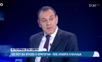 Νικ. Παναγιωτόπουλος: «Δεν είμαστε πολεμοχαρείς αλλά θα αντιδράσουμε»