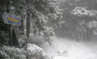 Καιρός: Χιόνια και στην Αττική φέρνει ο «Ηφαιστίων» την Κυριακή και τα Θεοφάνεια