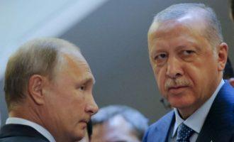 Ο Ερντογάν θα ζητήσει από τον Πούτιν να «μοιραστούν» τη Λιβύη – Τουρκορωσική λίμνη η Μεσόγειος