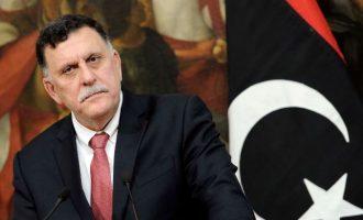 Ο ισλαμιστής Σαράτζ της Τρίπολης ζήτησε να συμμετάσχουν στο Βερολίνο Τυνησία και Κατάρ