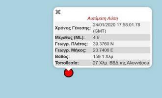 «Τρελάθηκαν» οι σεισμογράφοι: Λάθος «σεισμός» στην Αλόννησο λόγω Τουρκίας