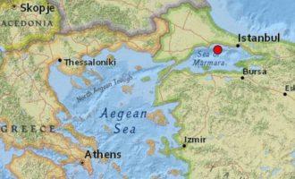 Σεισμός ταρακούνησε την Κωνσταντινούπολη το απόγευμα του Σαββάτου