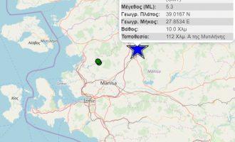 Ισχυρός σεισμός στην Τουρκία – Ταρακουνήθηκαν και τα νησιά του βόρειου Αιγαίου