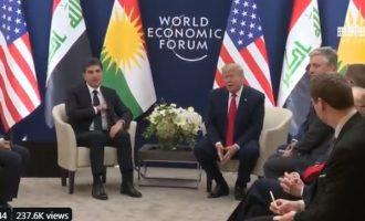 Άφωνοι όλοι! Ο Τραμπ δεν ξέρει τη διαφορά μεταξύ συριακού και ιρακινού Κουρδιστάν (βίντεο)