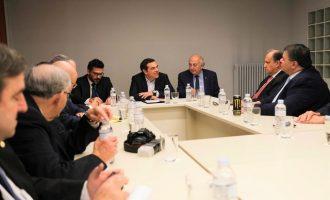 Ο Τσίπρας συναντήθηκε με ελληνοαμερικανικές και αμερικανοεβραϊκές οργανώσεις