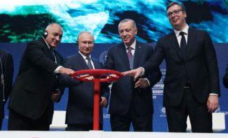 Turkish Stream: Όποτε οι Αμερικανοί ξεχνάνε ποιοι είναι οι φίλοι τους στα Βαλκάνια να κοιτάνε αυτή τη φωτογραφία