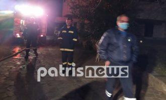 Αμαλιάδα: Νεκρή 77χρονη από φωτιά στο σπίτι της