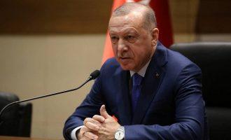Παράνοια Ερντογάν: Η Ελλάδα αποδέχεται το καθεστώς που κηρύξαμε στην Μεσόγειο