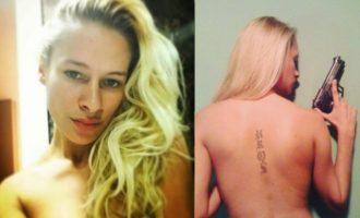 Εκρηκτική ξανθιά Σέρβα μοντέλο συνελήφθη με δύο πακέτα ηρωίνης και όπλα – Τη φωνάζουν «Κοκαΐνα»