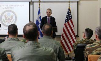 «Σφυροκόπημα» από Έλληνες και Αμερικανούς πιλότους στο Στεφανοβίκειο – Tι είπε ο Πάιατ