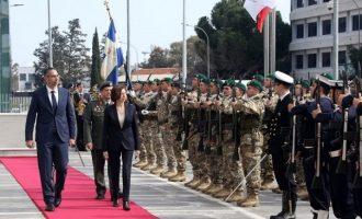 Ηχηρό μήνυμα της Γαλλίδας υπ. Άμυνας στην Τουρκία – «Στηρίζουμε πλήρως την Κύπρο»
