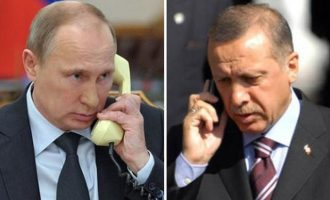 Ο Ερντογάν πρότεινε στον Πούτιν συμμετοχή κι άλλων χωρών της περιοχής στην εκεχειρία στο Ναγκόρνο Καραμπάχ