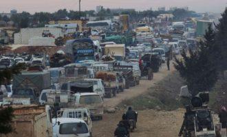 Η Τουρκία απείλησε ότι θα στείλει όλους τους πρόσφυγες από τη Συρία στην Ευρώπη