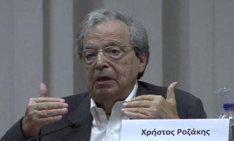 Κύκλοι ΥΠΕΞ: Ο Ροζάκης εκφράζει προσωπικές απόψεις – Η θητεία του έληξε στις 7 Ιουνίου