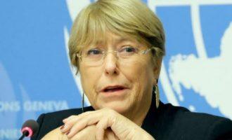 Η Μπατσελέτ του ΟΗΕ ζητά άρση κυρώσεων σε Ιράν, Κούβα, Βόρεια Κορέα, Βενεζουέλα και Ζιμπάμπουε λόγω Covid-19