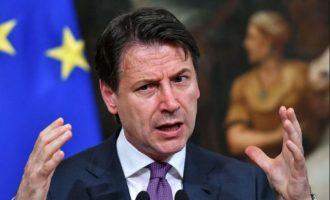 Τζουζέπε Κόντε: «Το ευρωπαϊκό οικοδόμημα κινδυνεύει να χάσει τον λόγο ύπαρξής του»