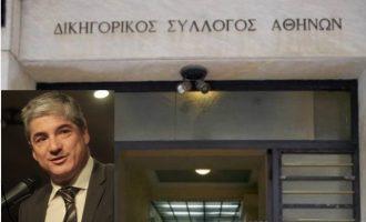 Ο ΔΣΑ επιτίθεται στην κυβέρνηση και «αδειάζει» τον αντιπρόεδρο του Θέμη Σοφό (βίντεο)