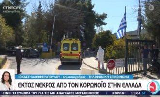 Έκτος νεκρός από τον Covid-19 στην Ελλάδα – 70χρονος στην Καστοριά