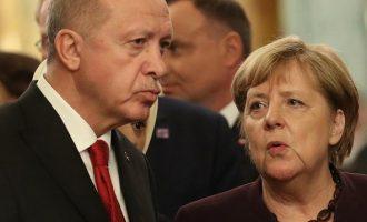 Μέρκελ και Ερντογάν μίλησαν για την Ανατ. Μεσόγειο – Tι ζήτησε ο Τούρκος