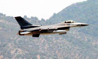 Τουρκικά μαχητικά πέταξαν πάνω από ελληνικό έδαφος στον Έβρο