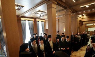 Ιερά Σύνοδος: Ο Ερντογάν μετέτρεψε την Αγία Σοφία σε σημείο διχασμού και διασπάσεως