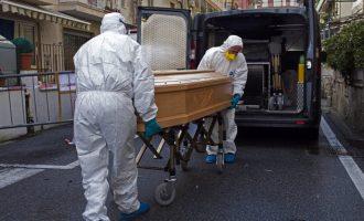 Κοροναϊός: 919 πέθαναν σε μια μέρα στην Ιταλία – 9.134 οι νεκροί
