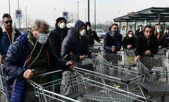 Ιταλία: Η κυβέρνηση διαθέτει 4,7 δισ. ευρώ για να αγοράζουν οι πολίτες τρόφιμα και φάρμακα