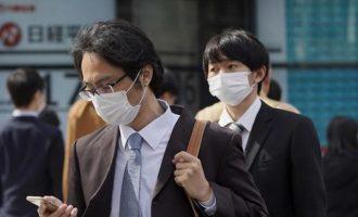 Κορωνοϊός: Σε υψηλότερο επίπεδο διμήνου τα κρούσματα στην Ιαπωνία