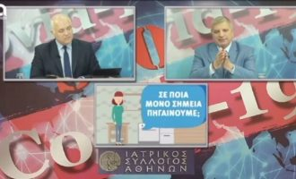 Ανησυχία Πατούλη για τους αναπνευστήρες (βίντεο)