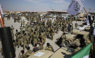 Διαδηλώνουν οι τζιχαντιστές στη βόρεια Συρία – Ζητάνε από τον Ερντογάν τους μισθούς τους