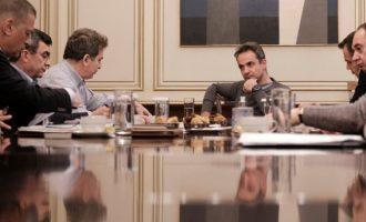 Σύσκεψη στο Μαξίμου: Επιτυχής η αποτρεπτική δράση των ελληνικών δυνάμεων στον Έβρο