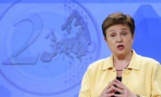 Γκεοργκίεβα του ΔΝΤ: «Αυτή είναι η χειρότερη στιγμή της ανθρωπότητας που έχω ζήσει»