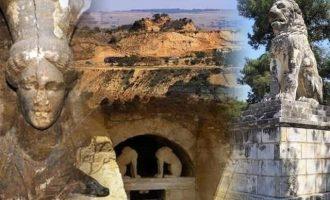 Αμφίπολη: Η πρόοδος των εργασιών στον Τύμβο Καστά