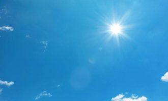 Καιρός: Μέχρι 32 βαθμούς η θερμοκρασία την Τρίτη