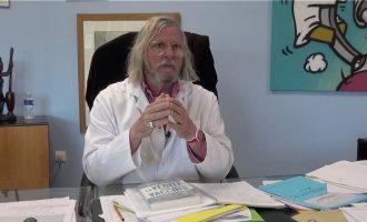 Γάλλος καθηγητής: Μεγαλύτερη η βλάβη στον εγκέφαλο παρά στους πνεύμονες από τον κορωνοϊό