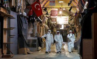 Αγγίζουν τις 40.000 οι νεκροί από κορωνοϊό στην Τουρκία
