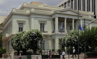 Ο Τούρκος πρέσβης κλήθηκε στο Υπουργείο Εξωτερικών – Διάβημα για τις έρευνες στην ελληνική ΑΟΖ