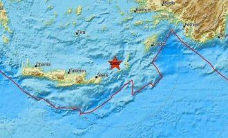 Σεισμός 4,2 Ρίχτερ στην Κάσο – Ταρακουνήθηκε και η Κρήτη