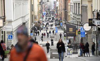 «Έκρηξη» κρουσμάτων κορωνοϊού στη Σουηδία – Ανακοινώθηκαν 752