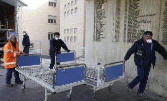Κορωνοϊός: Μείωση των κρουσμάτων, μικρή αύξηση των νεκρών στην Ιταλία